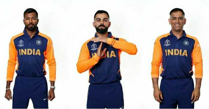 🧡 bleed orange (ਇੰਡੀਆ ਟੀਮ ਦੀ ਨਵੀਂ ਜਰਸੀ) - INDIA INDIA - ShareChat