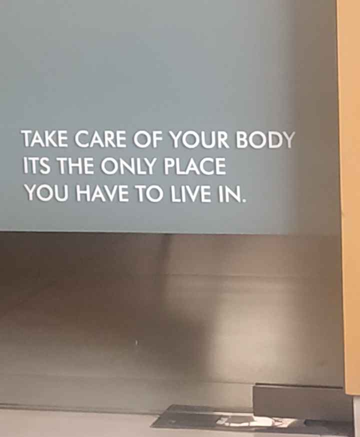 body fit boy - TAKE CARE OF YOUR BODY ITS THE ONLY PLACE YOU HAVE TO LIVE IN . - ShareChat