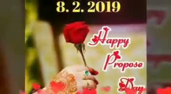 💍Happy Propose Day - ShareChat