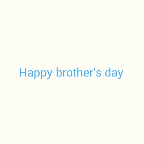 Brother's Day - Happy brother ' s day - ShareChat