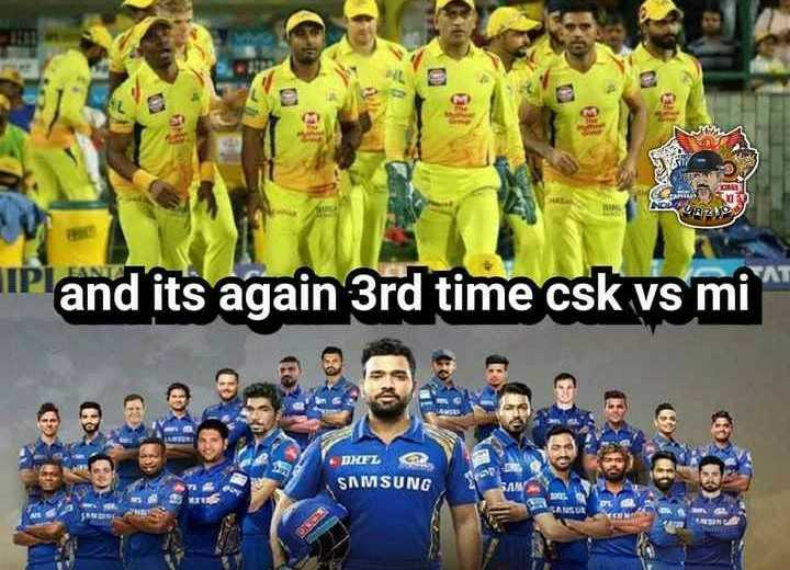 💪csk విజయం - SEBS NOS IP and its again 3rd time csk vs mi DEL SAMSUNG - ShareChat
