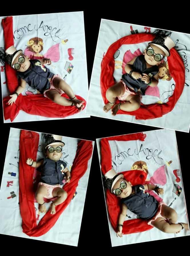 cute baby 💕 - Angeh Oeu JUL wome - ShareChat