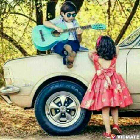 Cute Lovers - V VIDMATE - ShareChat