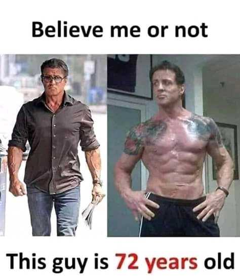 deep - Believe me or not This guy is 72 years old - ShareChat