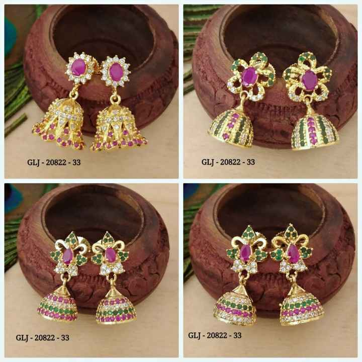 ear rings - GLJ - 20822 - 33 GLJ - 20822 - 33 GLJ - 20822 - 33 GLJ - 20822 - 33 - ShareChat