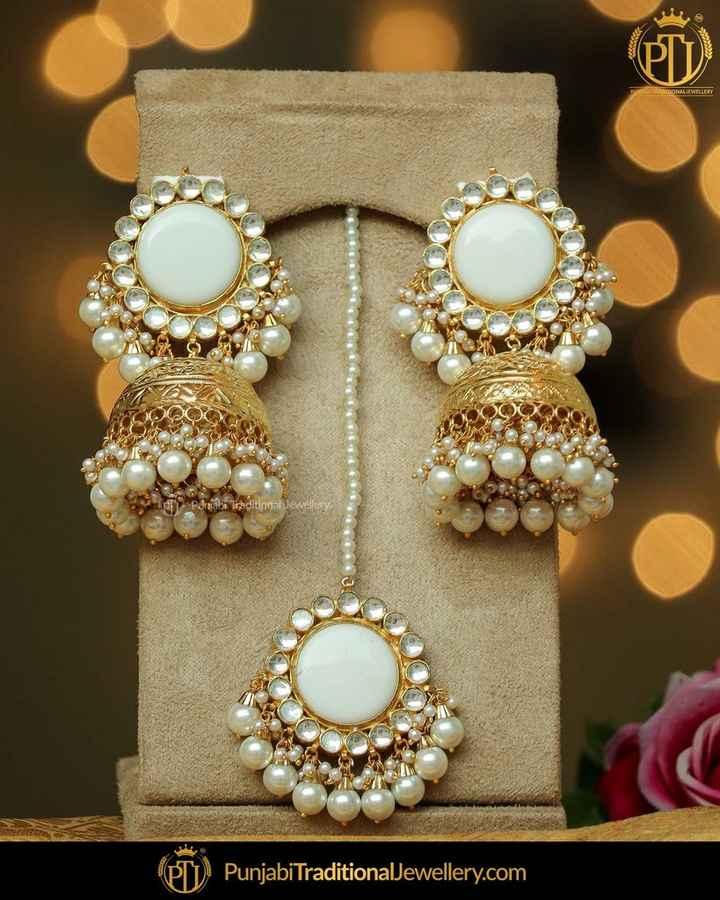 ear rings💕💕 - Panjabt Traditional Jewellery Punjabi TraditionalJewellery . com - ShareChat
