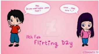 flirting day - Do you want some 19th Feb Flirting Day SUMANTA TO - ShareChat
