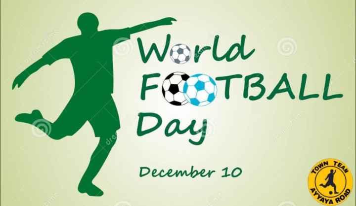 football താരങ്ങൾ😎😎 - Oreams World FOOTBALL Day creamrti dre TEAM December 10 YA ROAD - ShareChat