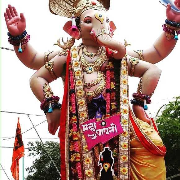 ganpati bappa - ਤੋਂ ੪੮ - ShareChat