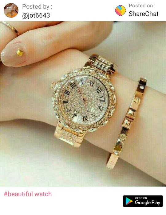 girls dp##😉☺👌 - Posted by : @ jot6643 Posted on : ShareChat # beautiful watch GET IT ON Google Play - ShareChat