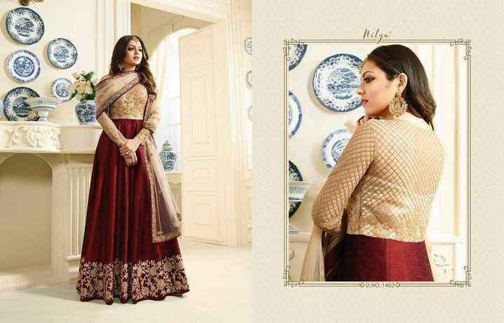 girls  fashion  💗 - Nitya D . NO . 14030 - ShareChat