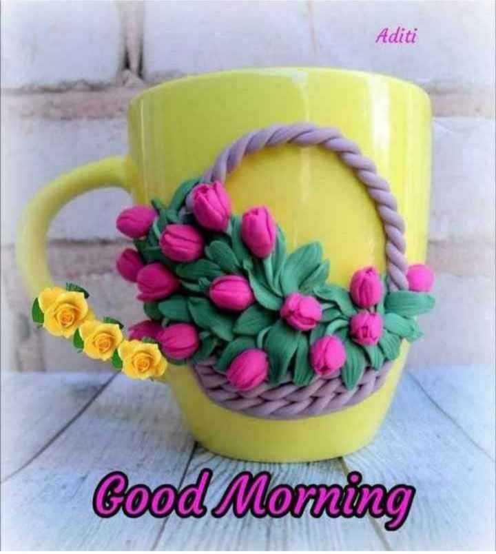 🍎good morning 🍎 - Aditi Good Morning - ShareChat