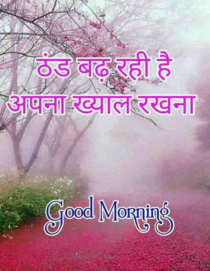 good morning ji - ठंड बढ़ रही है अपना ख्याल रखना Good Morning - ShareChat