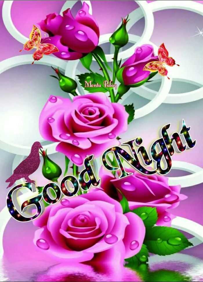 💙 good night 💙 - Montu Pulay Goo - ShareChat