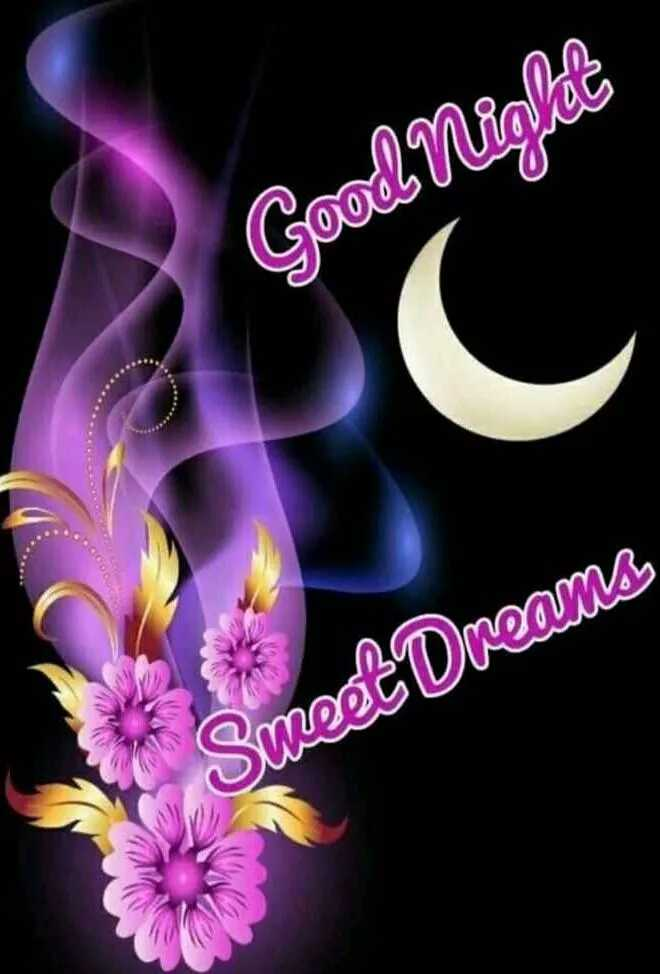 good night💐 🌸 - Good Niglas Sweet Dreams - ShareChat