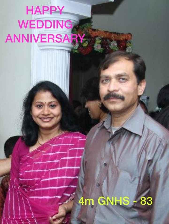 happy anniversry - HAPPY WEDDING ANNIVERSARY 4m GNHS - 83 - ShareChat