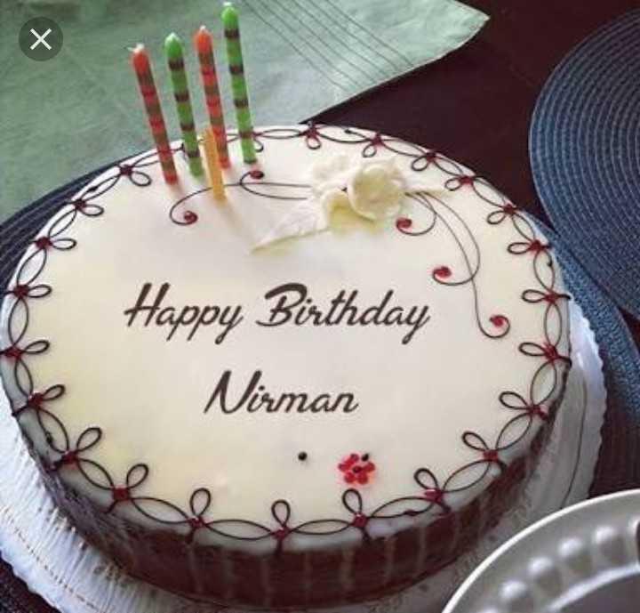 happy b.day 🍫🍫🎂 - Happy Birthday Nirman - ShareChat