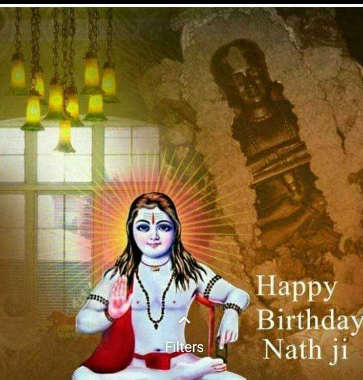 🎂 happy birthday baba balk nath ji - TORE 21228 . Happy Birthday Nath ji Filters - ShareChat