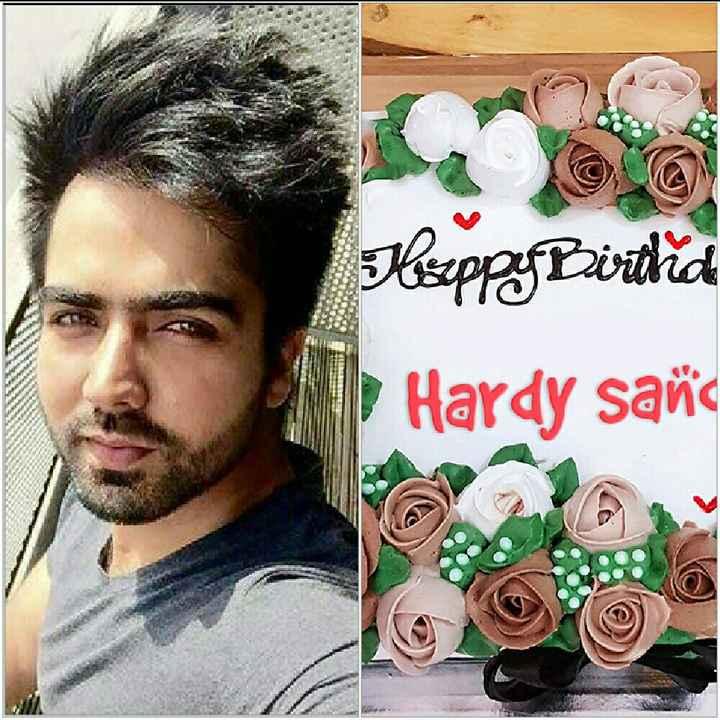 happy birthday hardy sandhu - Hoppy Birtrid Hardy saña A w - ShareChat