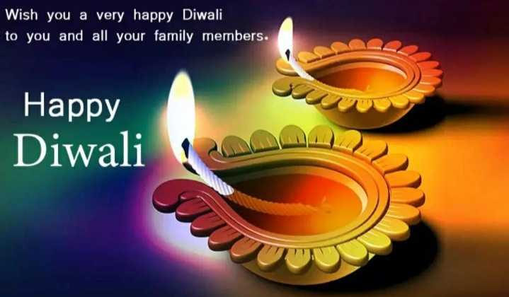 happy diwali - Wish you a very happy Diwali to you and all your family members . Happy Diwali - ShareChat