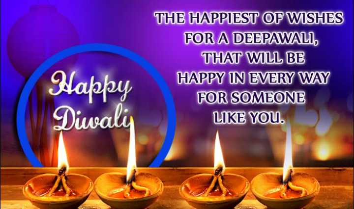 🎉🎆happy diwali🎊🎆 - THE HAPPIEST OF WISHES FOR A DEEPAWALI , THAT WILL BE HAPPY IN EVERY WAY FOR SOMEONE LIKE YOU . Happy Diwali - ShareChat