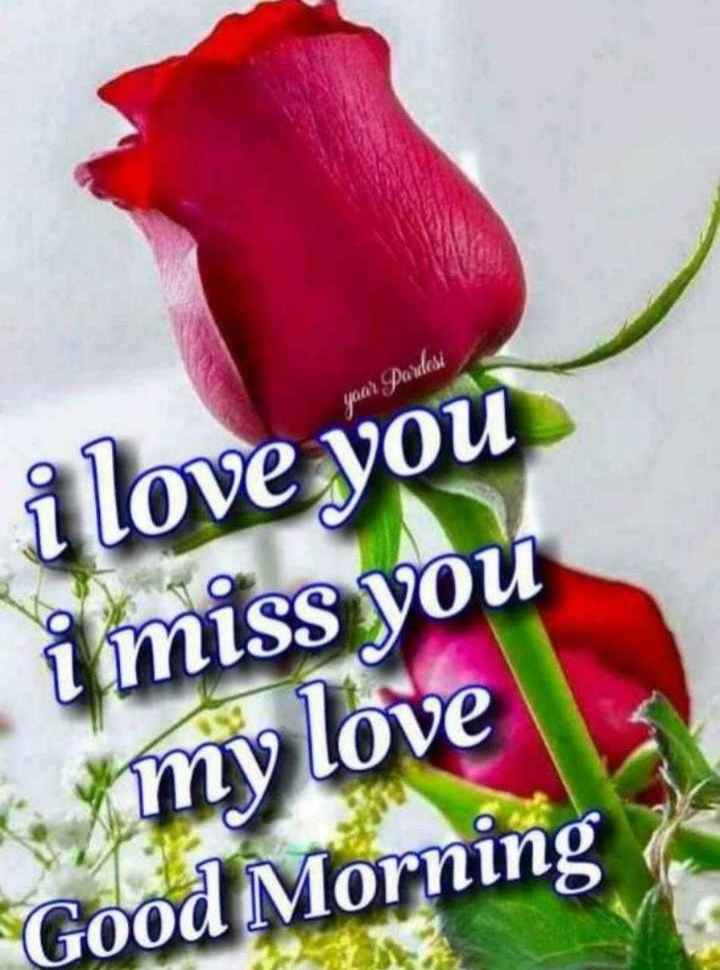 hii good morning friends - year Pardesi i love you i miss you my love Good Morning - ShareChat