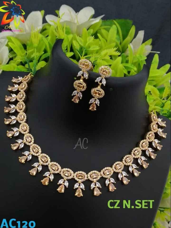 jewellery - CZ N . SET AC120 - ShareChat
