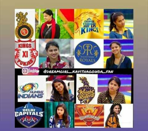 kavitha gowda - SUPER KINGS KINGS EX DPC ROYALS VUNJA o Follow @ DREAMGIRL _ KAVITHAGOWDA _ FAN MUMBAI INDIANS DELHI CAPITALS SUNRISER - ShareChat