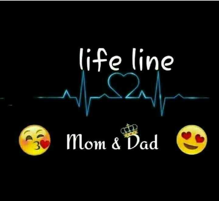 maa❤❤ - life line Mom & Dad - ShareChat