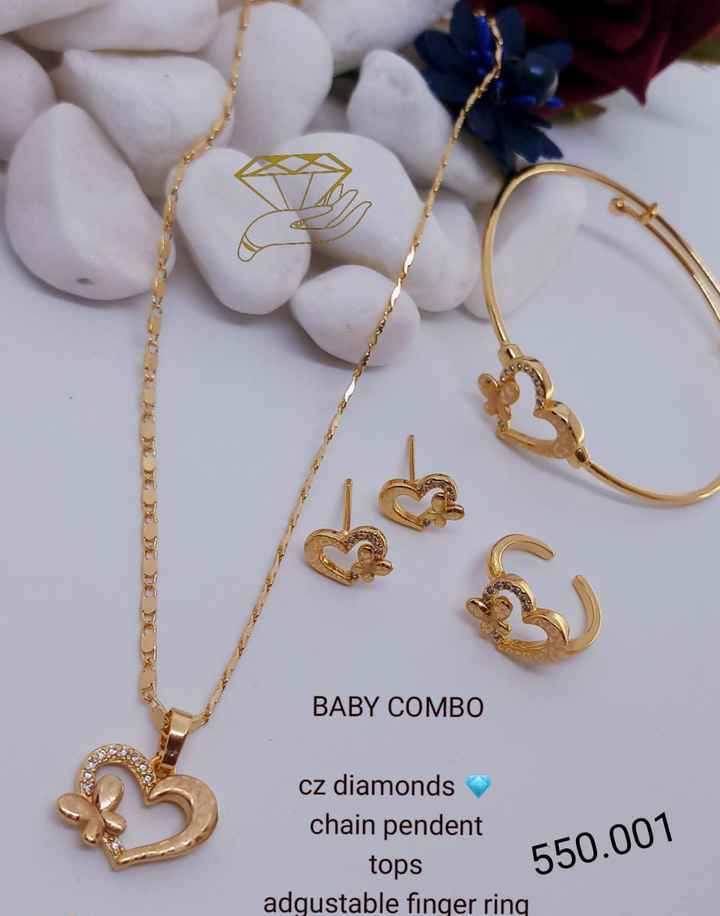 marriage disigns - BABY COMBO sa kumpendane 550 . 001 cz diamonds chain pendent tops 550 . 001 adgustable finger ring - ShareChat