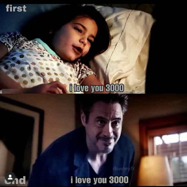 marvel - first i love you 3000 Sad downey . fc i love you 3000 - ShareChat