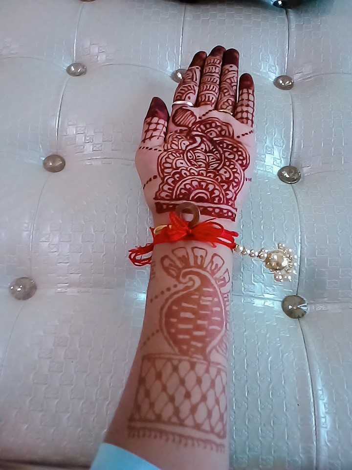 meri mehndi😘😘 - PORT - ShareChat