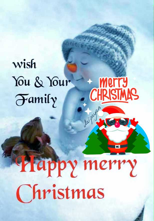 merry christmas advance - wish You & Your + merry Family . CHRISTMAS dai payan Trappy merry Christmas - ShareChat