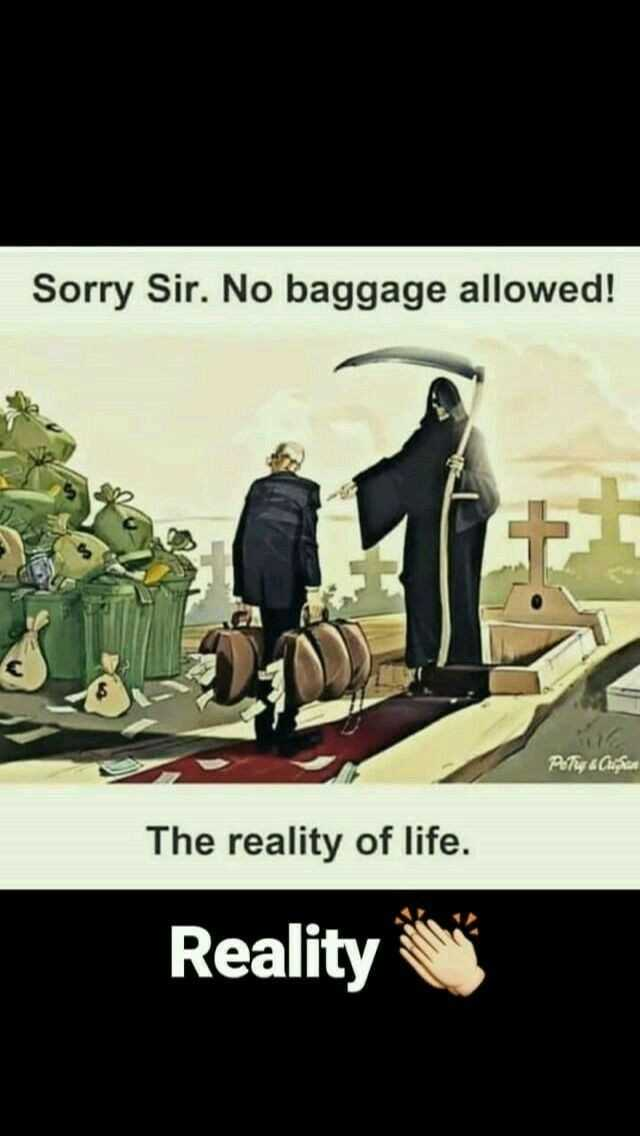my life, my rules 🤐 - Sorry Sir . No baggage allowed ! Petey a Custom The reality of life . Reality - ShareChat
