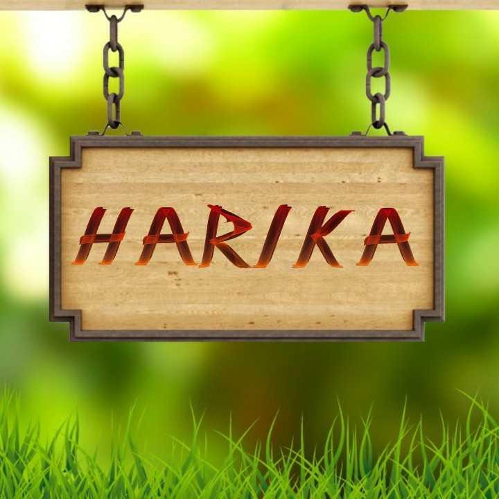 my name - HARIKA - ShareChat