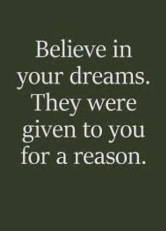 my thought 🌹🌹🌹🌹🌹🌈 - Believe in your dreams . They were given to you for a reason . - ShareChat