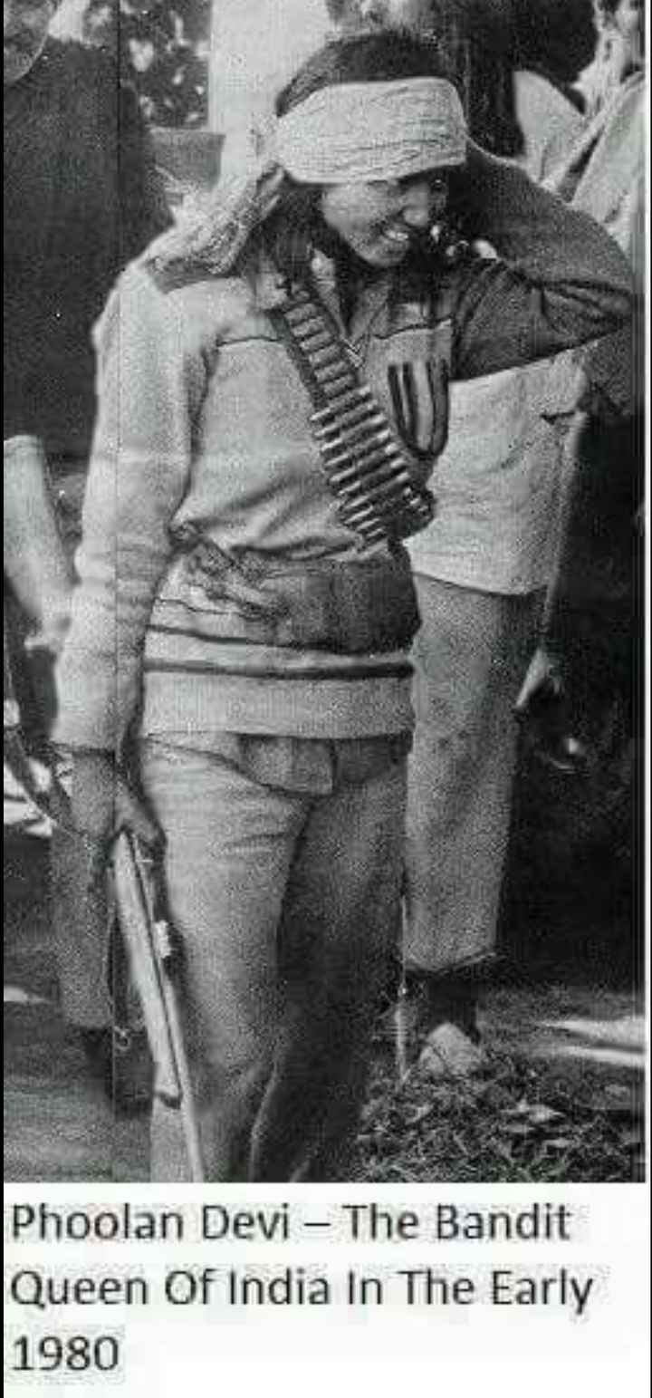 namma desha - Phoolan Devi – The Bandit Queen Of India In The Early 1980 - ShareChat