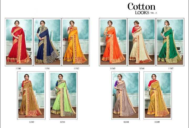 new sari - Cotton LOOKS - 2 11342 11346 1193 11144 11315 1139 - ShareChat
