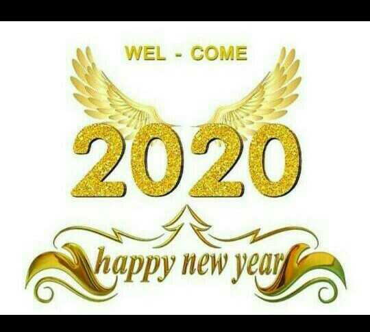 new year - WEL - COME 2020 - ShareChat