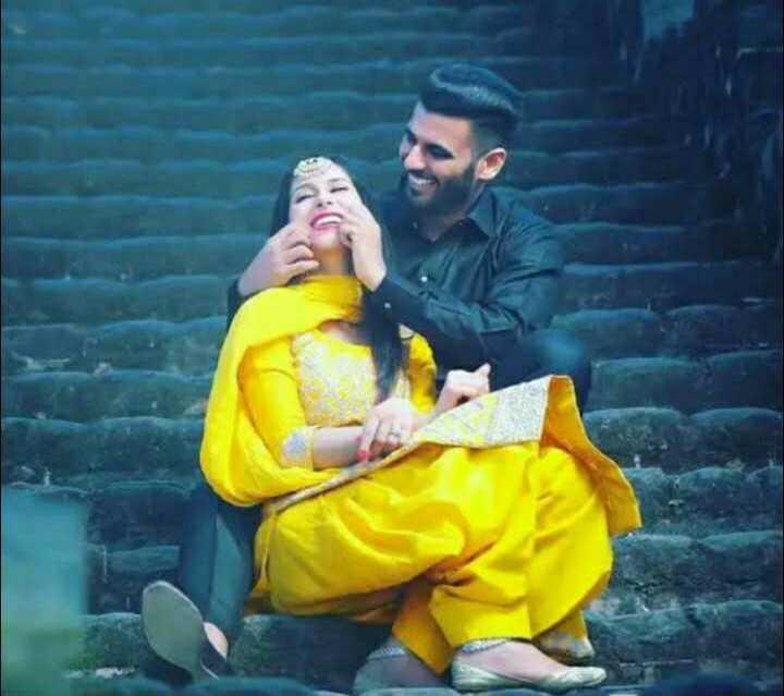 💑 punjabi couples - ShareChat