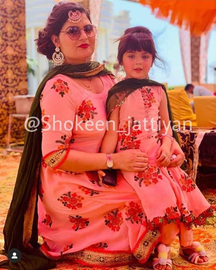 punjabi suit 😘 - @ Shokeen jattiyan in - ShareChat