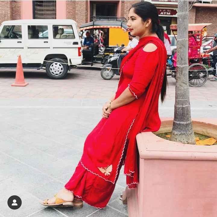 punjabi suit 😘 - ਏ . ਟੀ . ਐੱਮ . ATM - ShareChat