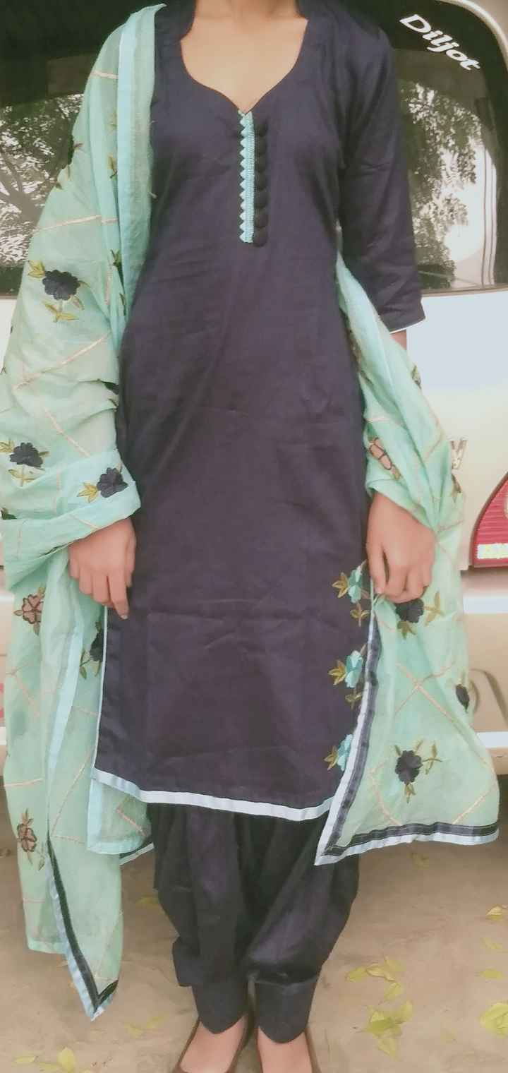 punjabi suit 😘 - Diljot - ShareChat