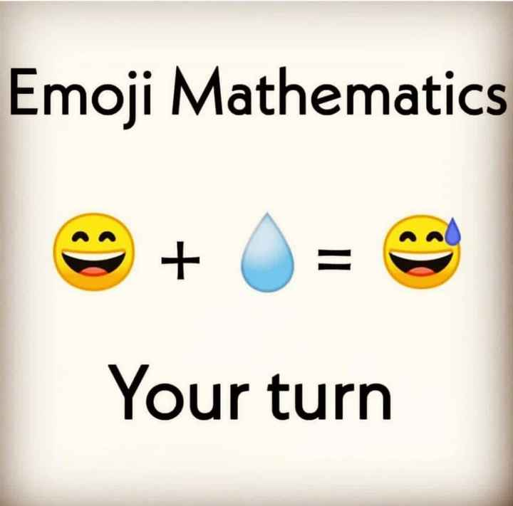 puzzel - Emoji Mathematics Your turn - ShareChat