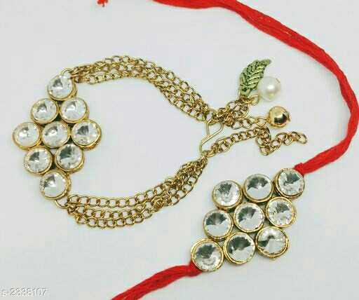 rakhi designs - 6 . 2838107 - ShareChat