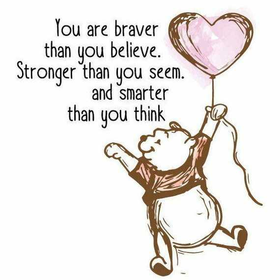 self confidence - You are braver than you believe . Stronger than you seem . and smarter than you think - ShareChat