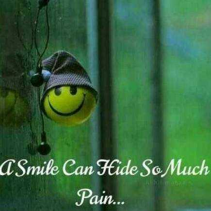 smile ☺️ - Smile Can Hide So Much Pain . . . - ShareChat