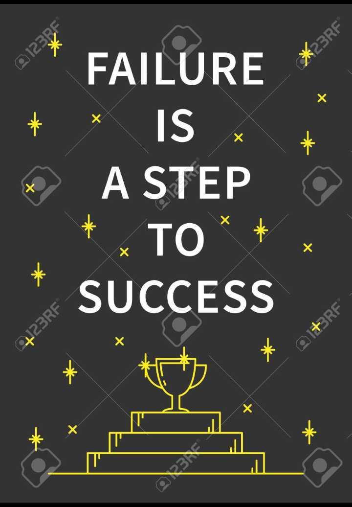 watsapp dp - + * * FAILURE * * IS * A STEP * TO * SUCCESS x Q1 + 3RF - ShareChat