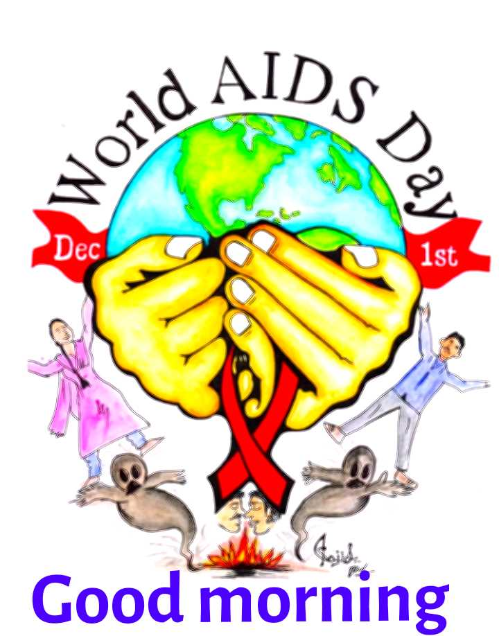 world aids day - Ad AIDS s Day Dec Good morning - ShareChat